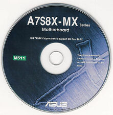 ASUS A7S8X-MX Motherboard Drivers Installation Disk M511