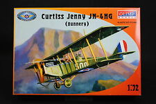 XS155 OLIMP MODELS 1/72 maquette avion P72-004 Curtiss Jenny JN-4HG Gunnery