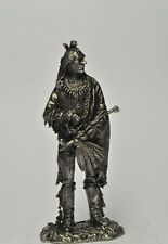 Lead toy soldier,Indian chief,rare,collectable,gift,,decoration,handmade