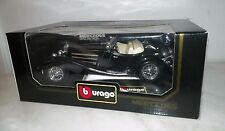 BURAGO 1:18 SCALE MERCEDES BENZ SSK 1928 BLACK  DIE CAST MODEL CAR  IN BOX
