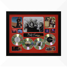 Pink Floyd Signed & Framed Memorabilia - 4CD - Red