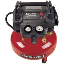 Porter-Cable 6 gallon c2002 150psi portable pancake air compressor with warranty