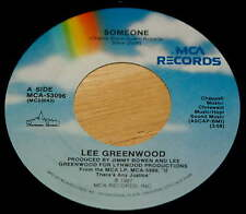 Lee Greenwood 45 Someone / Let's Make The Most Of Love