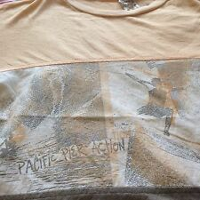 VINTAGE SURF PACIFIC PIER ACTION HAWAII LONGBOARD T-SHIRTS Butthole Surfers