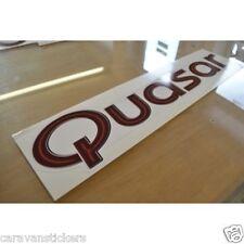 LUNAR Quasar - (STYLE 5)(ITALIC FONT) - Caravan Sticker Decal Graphic - SINGLE