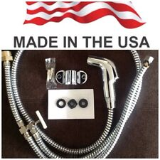 Modern Muslim Shataff Bidet Douche Shower Toilet Spray Chrome . MADE IN USA