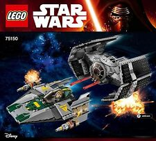 Lego® - 75150 - Vader`s TIE Advanced vs. A-Wing Starfighter Star Wars Rebels NEW