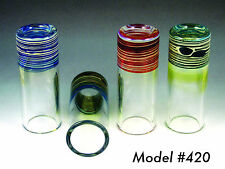 Silica Sound Handmade Glass Guitar Slide - Model 420