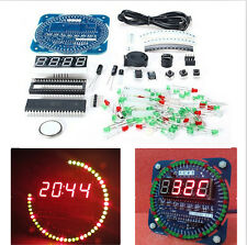 DS1302 New DIY Electronic Clock Kit 51 MCU Learning Board Rotating LED Clock CAD