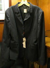 TuffRider Hunt Stretch Show Coat Ladies 12 Navy New