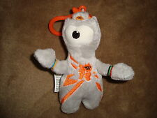 2012 London Olympic Games Paralympic Mascot WENLOCK Plush keychain
