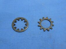 "NOS BSA Engine Shaft Timing Gear Locking Washer, Shakeproof 1/2"", Part # 65-0695"