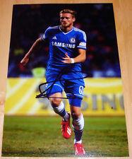 ANDRE schurrle Chelsea mano firmato 12x8 Autograph Foto calcio