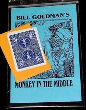 Monkey in the Middle Trick-Close-Up/Street Magic-Illusion Bicycle Cards