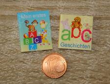 ABC Kinderbücher Buch 1:12  Miniatur Puppenstube Puppenhaus Setzkasten