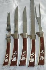 5pc. CUTLERY SET REGENT SHEFFIELD ENGLISH STAINLESS STEEL Meat fork Knives