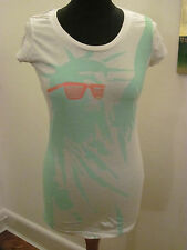PA: NUU STATUE OF LIBERTY long T-SHIRT TOP 10 New RP£48
