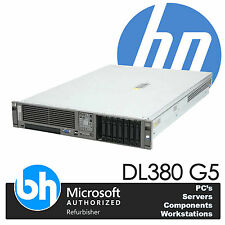 HP ProLiant DL380 G5 Twin Quad Core E5420 Xeon 2.5GHz 16GB RAM P400 RAID Server