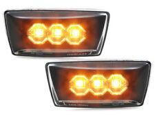 Opel Astra H LED Seitenblinker Black / Schwarz- Klar Glas E.Prüfzeichen
