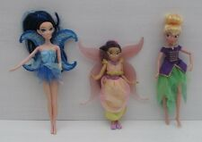 Barbie Tinkerbell Doll Fira Blue Hair Moon Wings Bundle Fairy