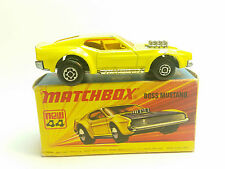 Matchbox Lesney Superfast #44 Boss Mustang BOXED