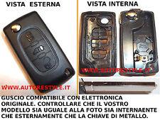 CHIAVE COVER GUSCIO 3 TASTI PER TELECOMANDO PEUGEOT EXPERT BOXER SE IDENTICO