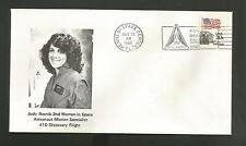 JUDY RESNIK 2ND WOMAN IN SPACE 41D AUG 30,1984 KSC **