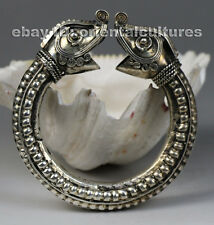 Tribal exotic ethnic chinese handmade miao silver  bracelet