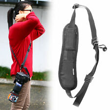 Black Quick Rapid Single Camera Strap Shoulder Sling Belt Canon Nikon Sony DSLR