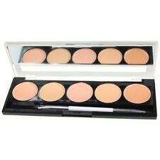 W7 CAMOUFLAGE KIT Cream Concealer Foundation Palette with brush and mirror