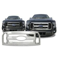 Chrome Grille Overlay FITS '16 2016 Ford F150 F 150 F-150 XL ONLY!
