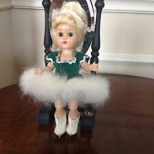 Vintage Vogue BKW Ginny Doll in tagged Green skating outfit
