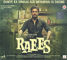 RAEES - Original Bollywood Soundtrack CD - Shahrukh Khan & Mahira