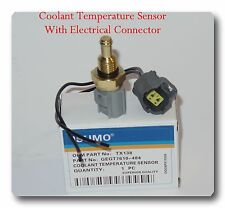 Engine Coolant Temperature Sensor W/ Electrical Connector For Ford Mazda Mercury
