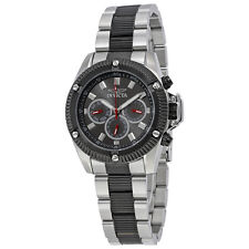 Invicta Specialty Multi-Function Charcoal Dial Two-tone Mens Watch 17059