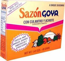 Free Shipping  1 Box Sazon Goya Seasoning Jumbo pak 36 packets 6.33oz