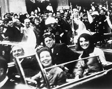 New 8x10 Photo: John F. Kennedy in Motorcade Moments Before Assassination