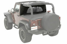 Bestop WrapAround WindJammer 07-16 Jeep Wrangler JK Black Diamond 80041-35