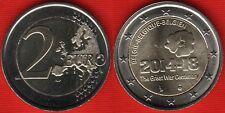 """Belgium 2 euro 2014 """"World War I"""" BiMetallic UNC"""