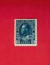 1925   #  111 * VFH  TIMBRE  CANADA  STAMP  GEORGE V ADMIRAL SERIE