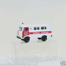Herpa MINITANKS 1:87 h0 743808 UAZ 452 Ambulance in VP (jl2299)