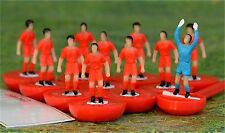 Subbuteo RED TEAM New Unboxed Wales Liverpool Team Football Figures Paul Lamond