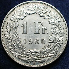 1969  Svizzera Switzerland  1  Franc  1969