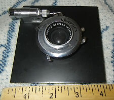 "Graphex,Graflex Optar WA f 6.8 3-1/2"" (90mm) Lens on Board Mfg. by Wollensak"