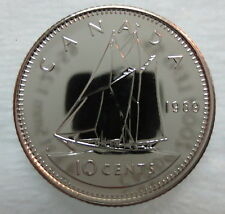 1989 CANADA 10 CENTS PROOF-LIKE COIN