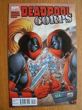 Victor Gischler Deadpool Corps #10 March 2011 SIGNED 1st ed SC NEW