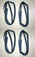 Glass Run Channel Seal Rubber Set 1996-2000 Honda Civic 4 door