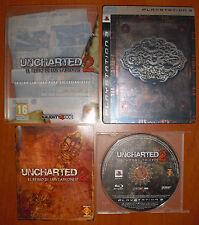 Uncharted 2: El Reino de Los Ladrones Ed. Limitada Coleccionista, PS3 Pal-España