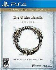 The Elder Scrolls Online: Tamriel Unlimited (Sony PlayStation 4)  DISC IS MINT