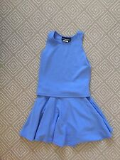 Un Deux Trois Blue Top and Skirt Outfit - Girls Size 12 -NWT